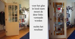 glas in lood en werken met hout in de regio Amsterdam