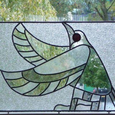 vrije vogel glas in lood