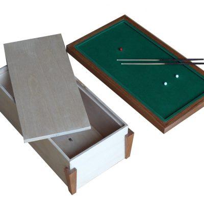 biljarttafel op schaal te gebruiken als urn