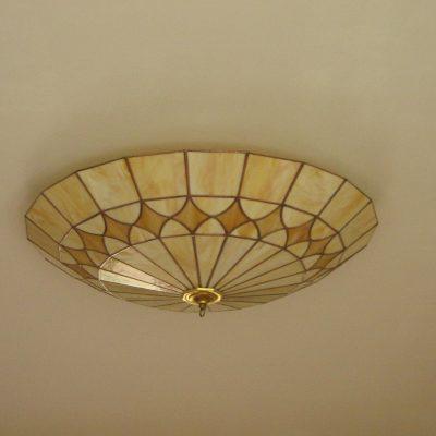 tiffany plafonnière doorsnede 55 cm