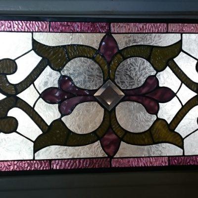 het gerestaureerde raam