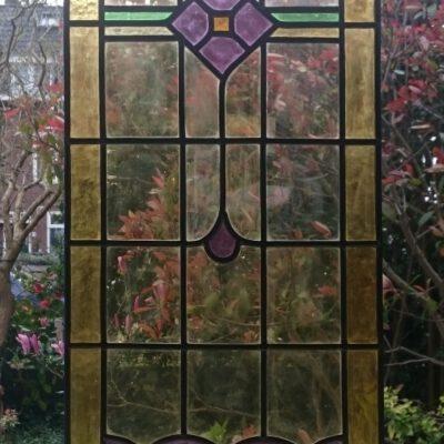 het nieuwe glas in lood raam
